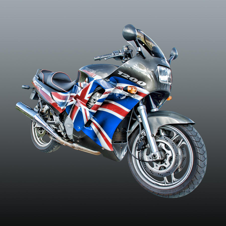 Triumph Trophy Motorcycle Photograph