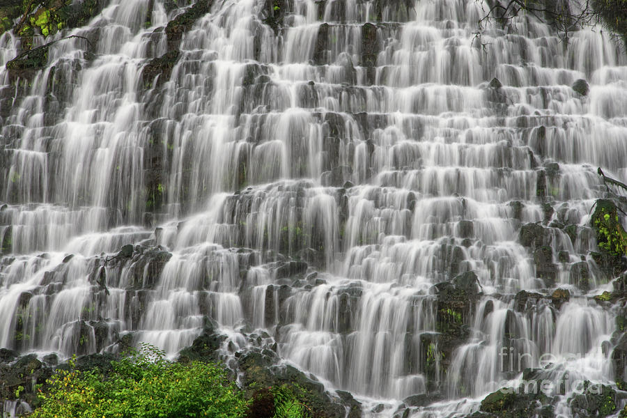 Twin Falls Photograph - Twin Falls 21 by Phil Perkins