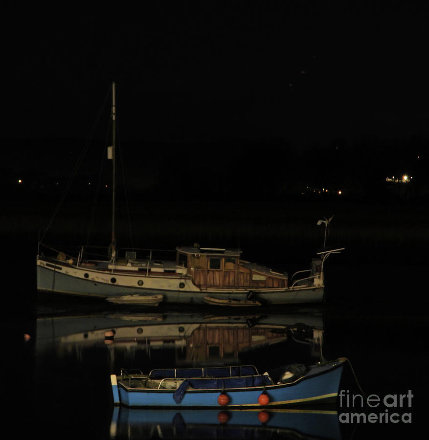 Boats Photograph - Two Boats by Andy Thompson