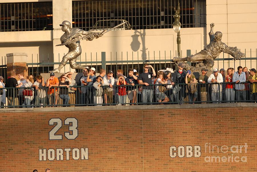 Ty Cobb Photograph by Mark Cunningham