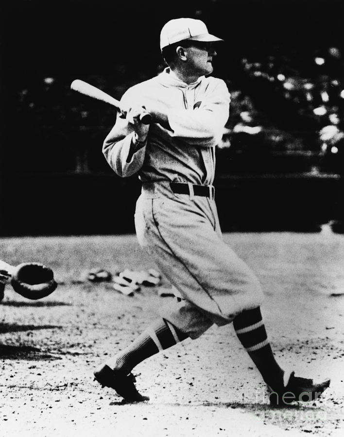 Ty Cobb Photograph by National Baseball Hall Of Fame Library