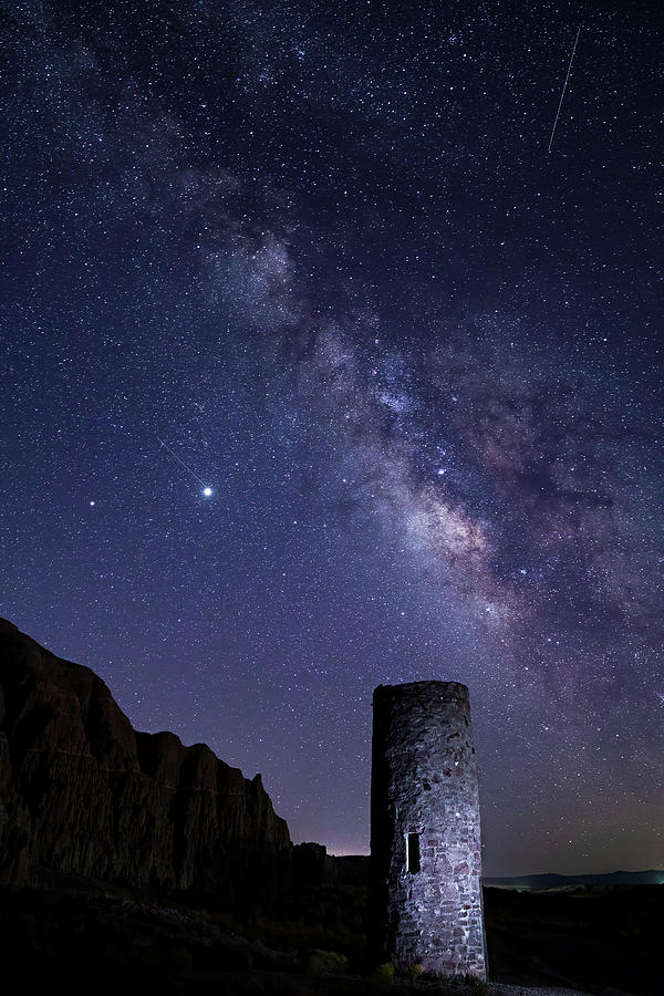 Cathedral Gorge Photograph - Under the Stars by James Marvin Phelps