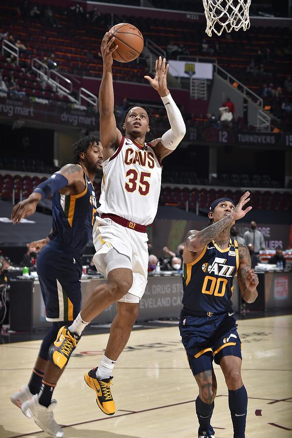 Utah Jazz v Cleveland Cavaliers Photograph by David Liam Kyle