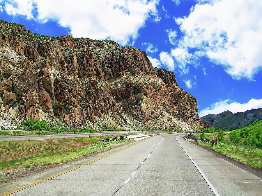 Utah Scenic Highway by Anthony Dezenzio