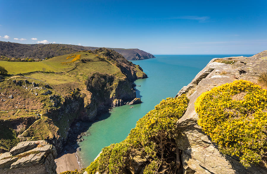 Valley of the Rocks - Exmoor National Park - England Photograph by Golfer2015