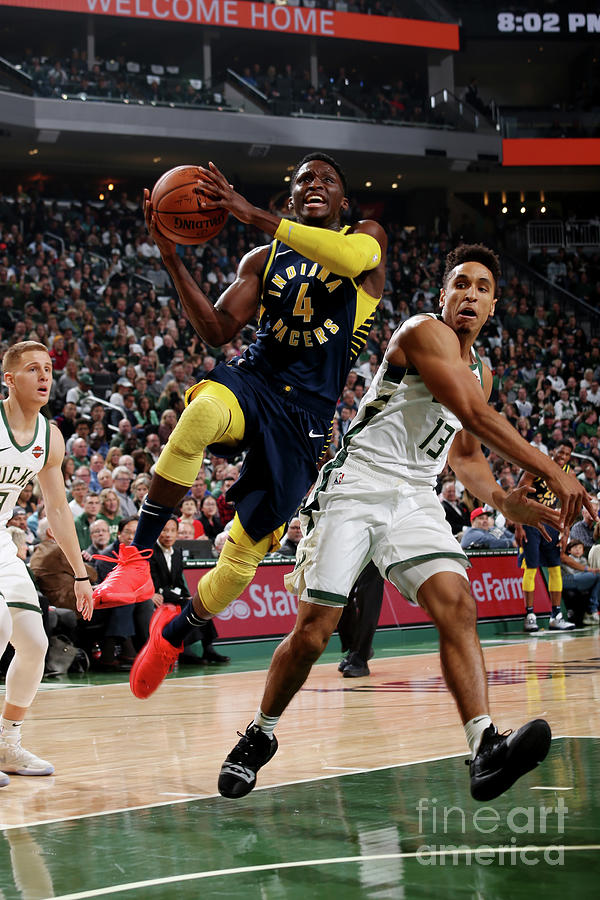 Victor Oladipo Photograph by Gary Dineen