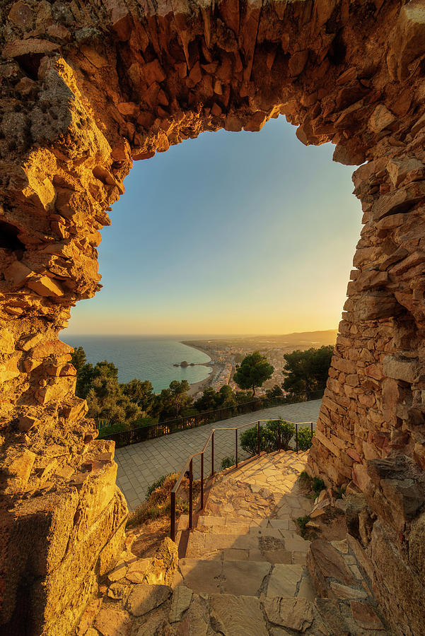 Blanes Photograph - Views To Blanes From The Castle by Vicen Photography