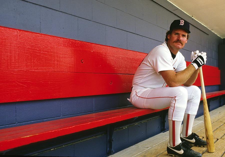 Wade Boggs Photograph by Ronald C. Modra/sports Imagery