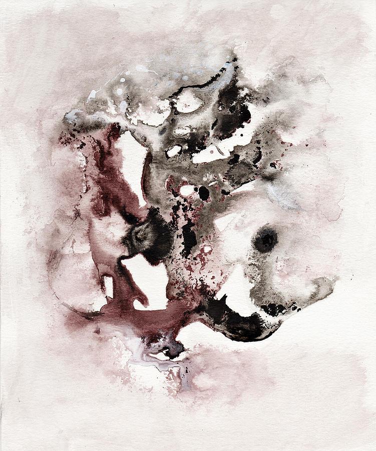 Inks Painting - Wakumba Da Sani by Wolfgang Schweizer