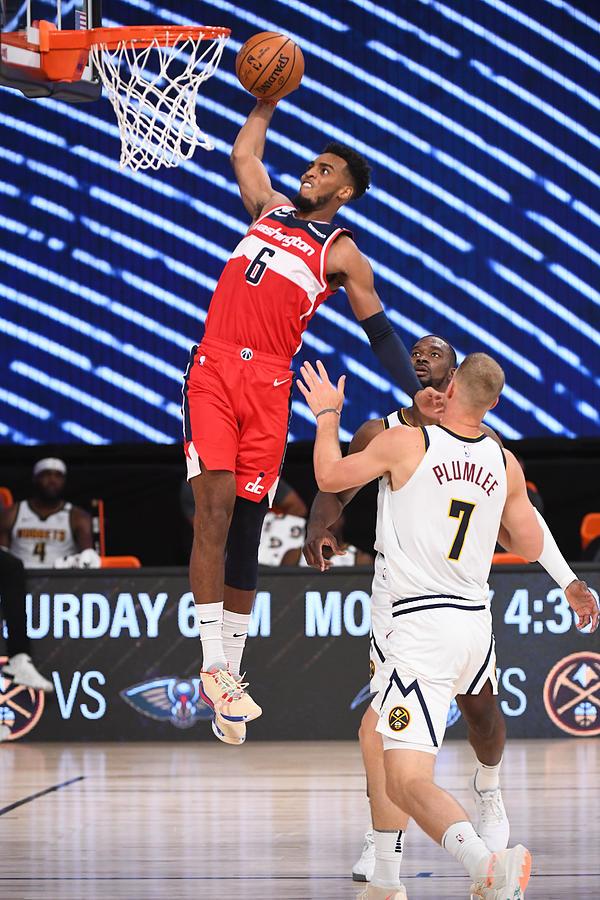 Washington Wizards v Denver Nuggets Photograph by Garrett Ellwood