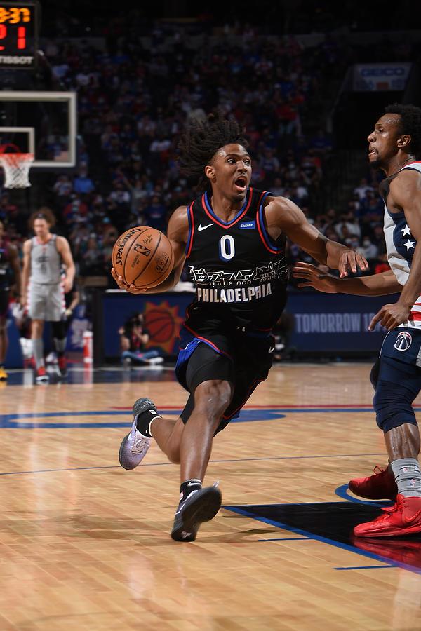 Washington Wizards v Philadelphia 76ers - Game Two Photograph by David Dow