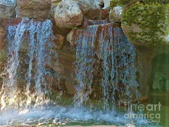 Water Fall by Jimmy Clark