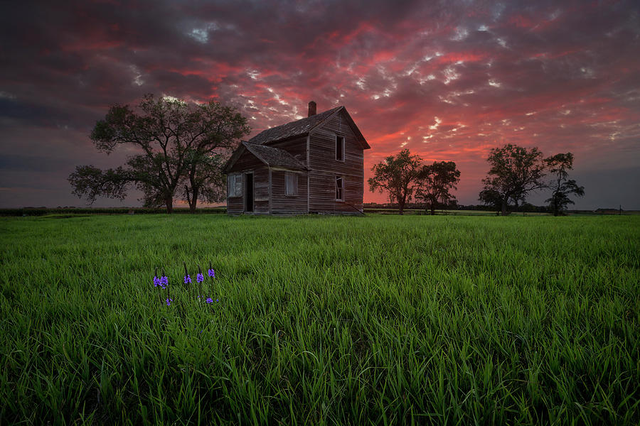 Abandoned Photograph - Welcome Home by Aaron J Groen