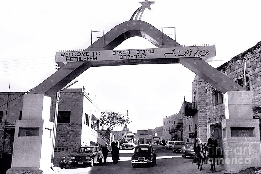 Welcome To Bethlehem Photograph