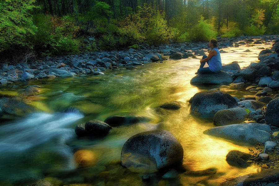 West Fork Of The Methow River Photograph