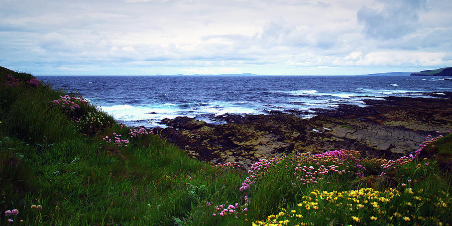 West Mainland Photograph - Westray Firth by Steve Watson