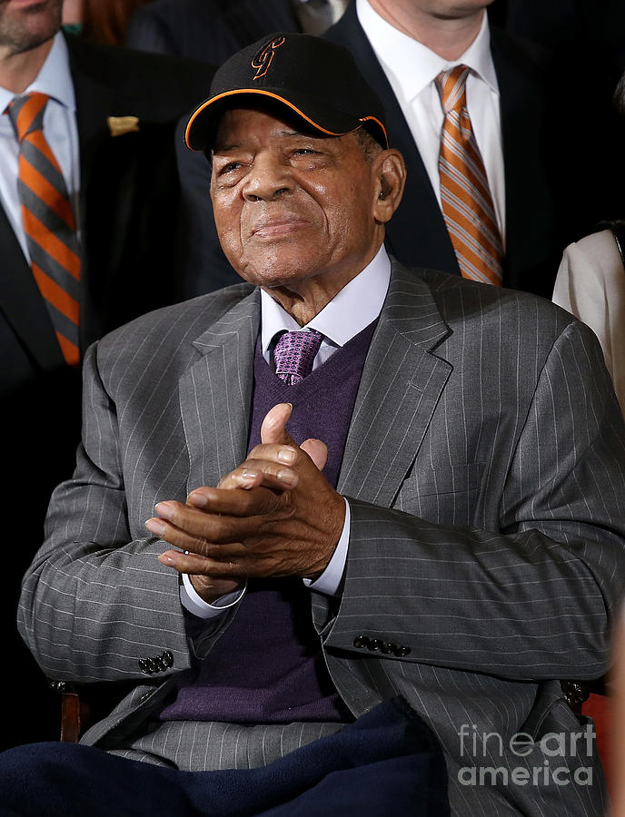 Willie Mays Photograph by Win Mcnamee