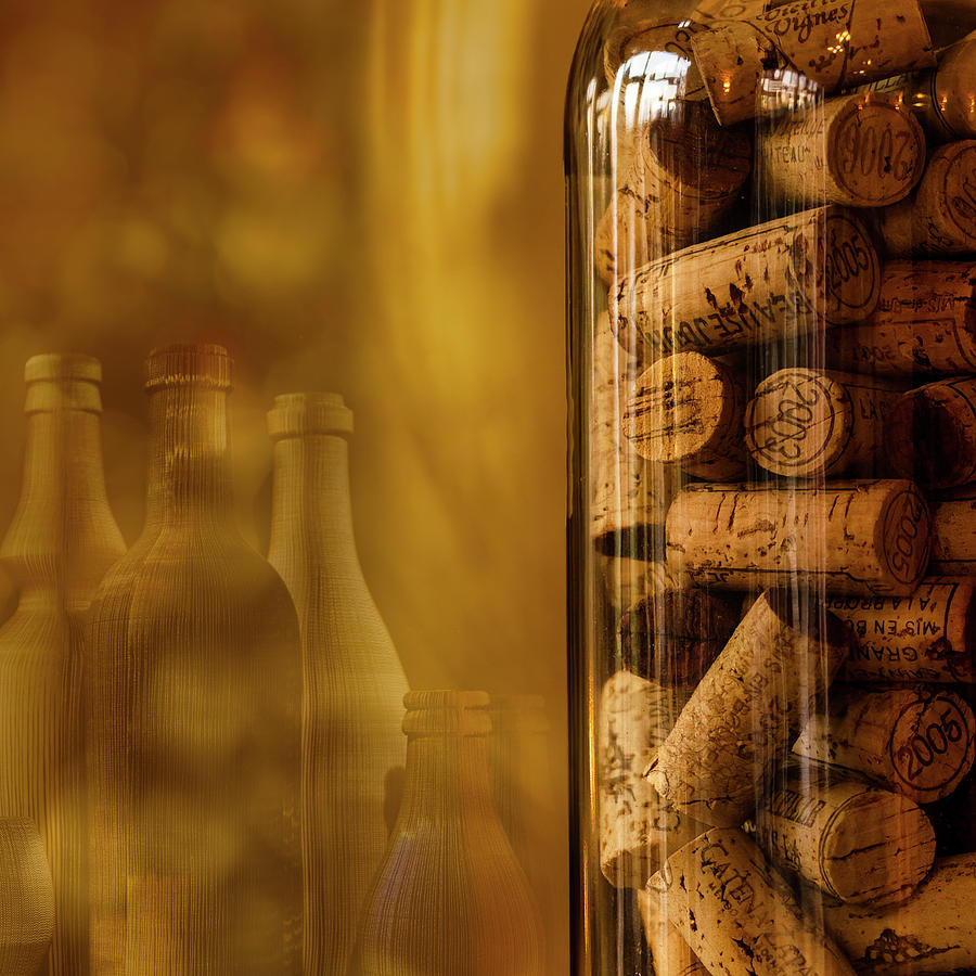 Wine Bottle Photograph