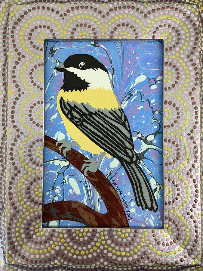Winter Chickadee by Amanda Lynne