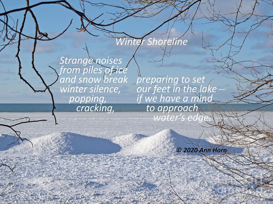 Winter Shoreline by Ann Horn