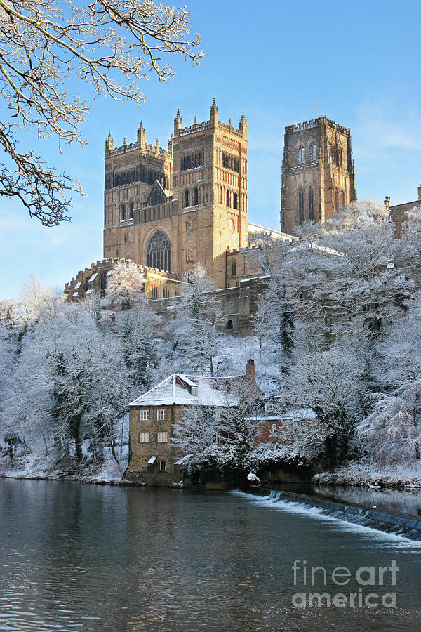 Winter view of Durham Cathedral by Bryan Attewell