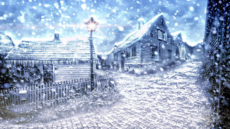 Winter Photograph - Winter Wonderland  by Andrea Kollo
