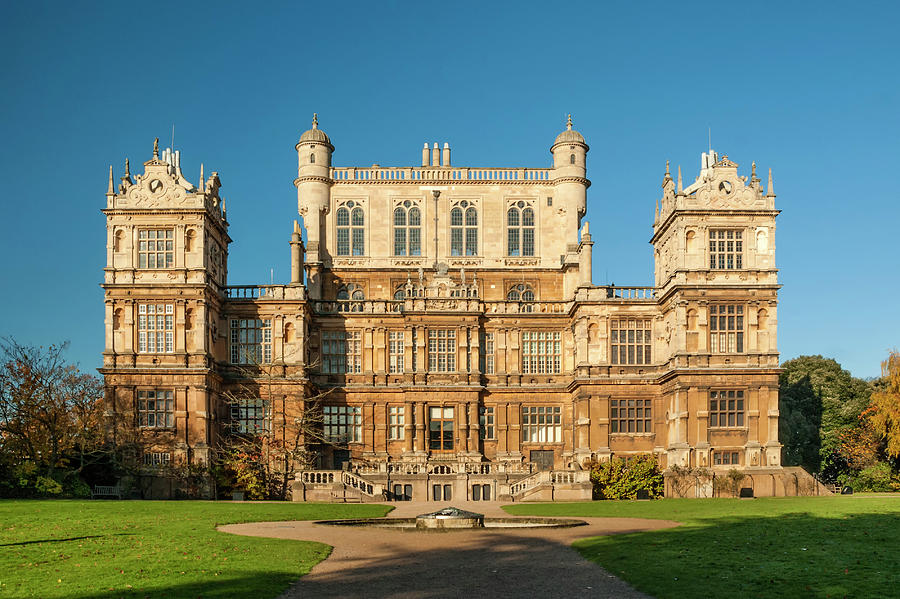Hall Photograph - Wollaton Hall by Paul Cullen