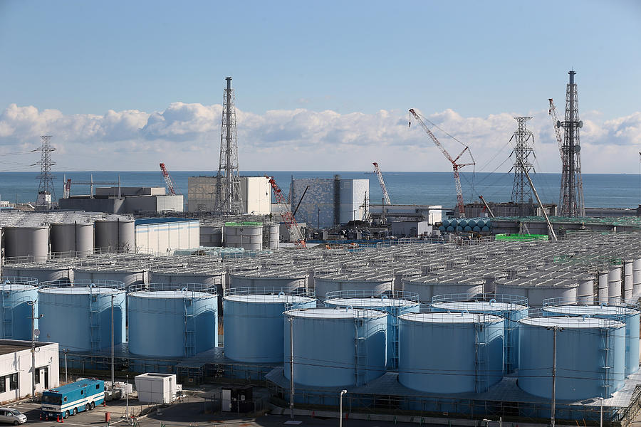 Workers of Fukushima Daiichi Photograph by Christopher Furlong