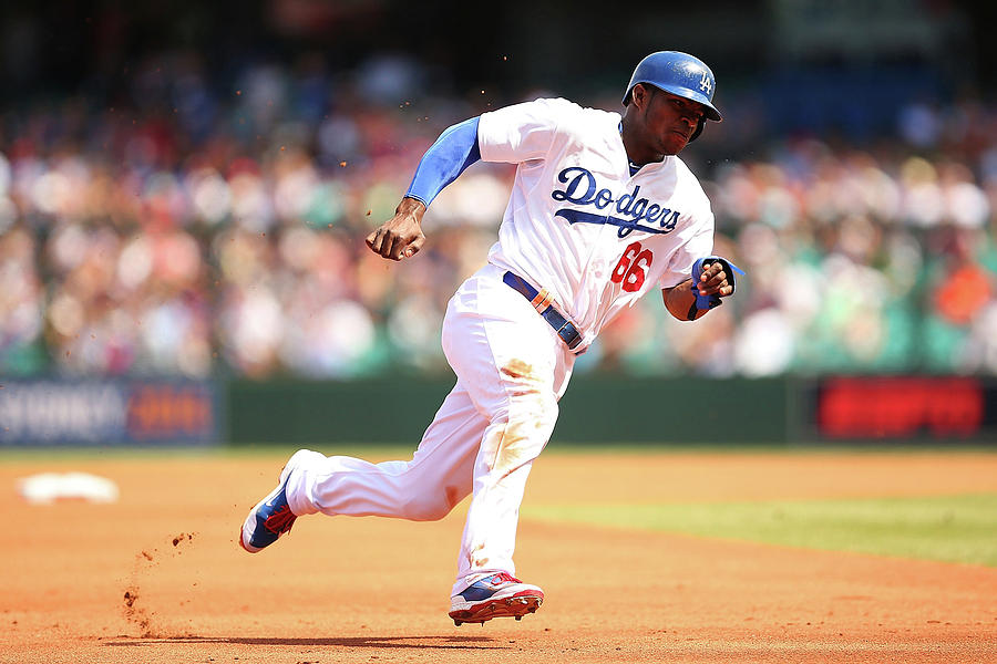 Yasiel Puig Photograph by Brendon Thorne
