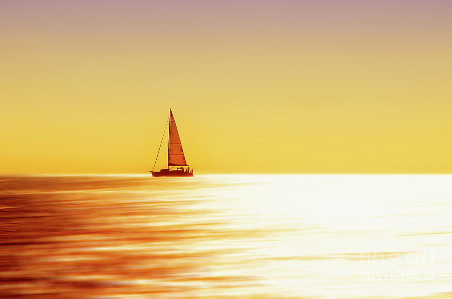 Yellow Photograph - Yellow Silk 1 by Alessandro Giorgi Art Photography
