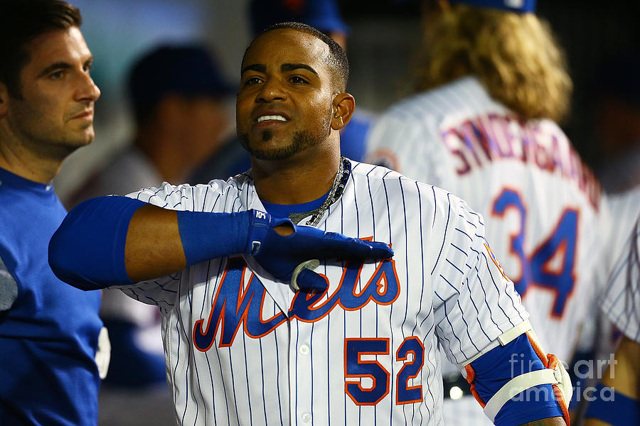 Yoenis Cespedes Photograph by Mike Stobe