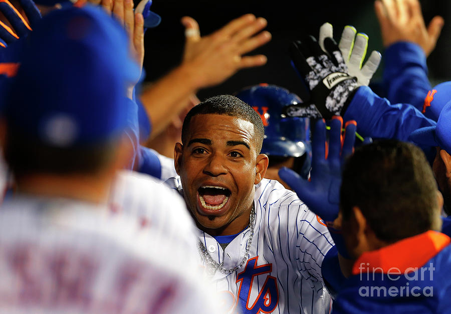 Yoenis Cespedes Photograph by Rich Schultz