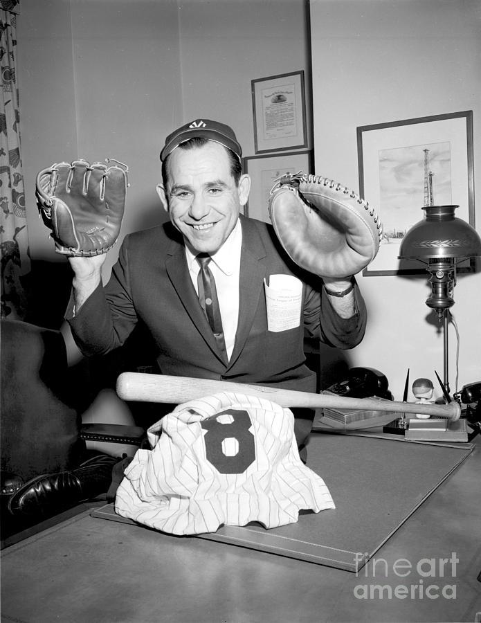 Yogi Berra Photograph by Olen Collection