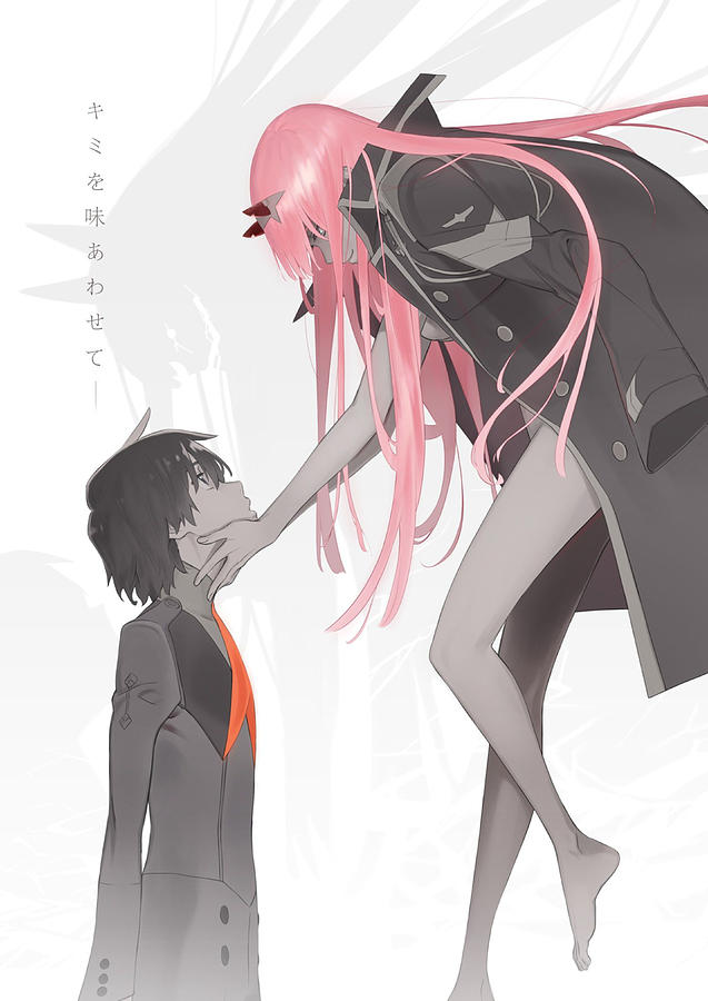 Zero Two Cute Drawing By Fromjapan Tousa