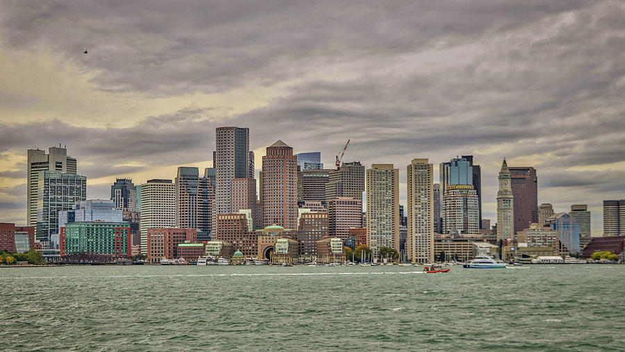 Boston Massachusetts USA by Paul James Bannerman