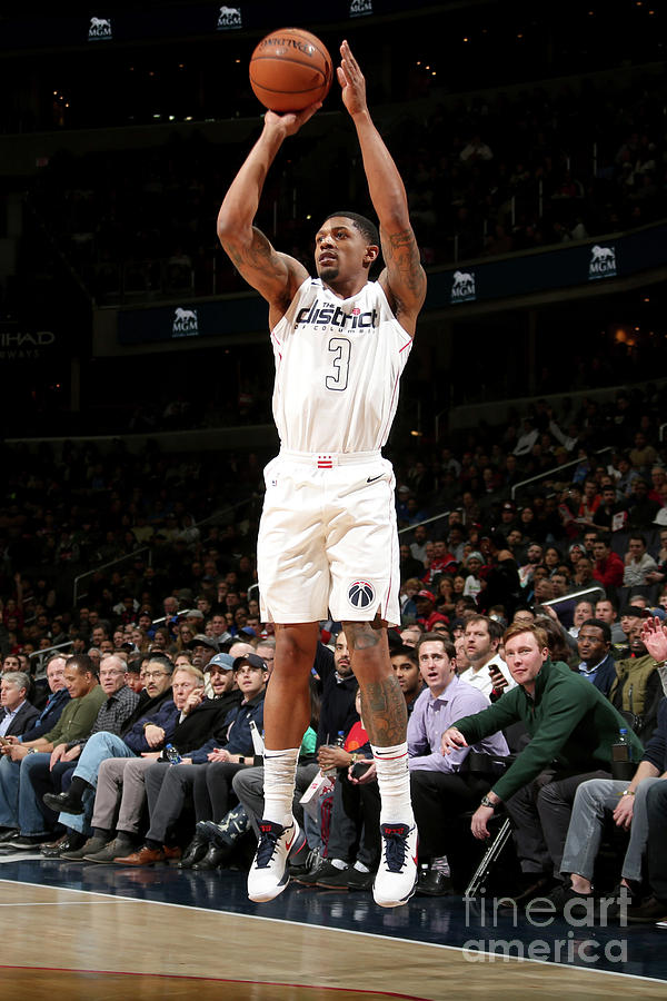 Bradley Beal Photograph by Ned Dishman
