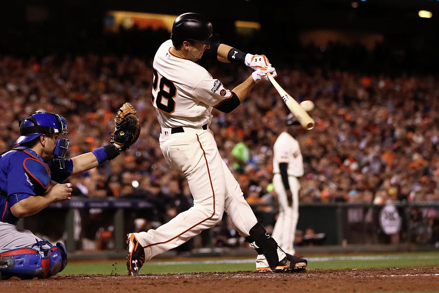 Buster Posey Photograph by Ezra Shaw