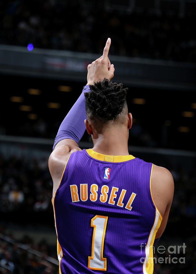 Dangelo Russell Photograph by Nathaniel S. Butler