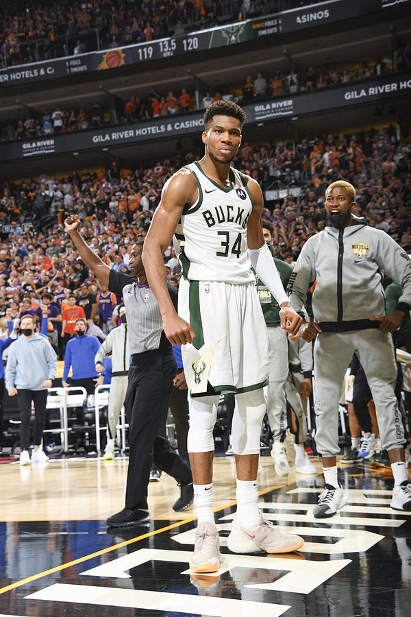 Giannis Antetokounmpo Photograph by Andrew D. Bernstein
