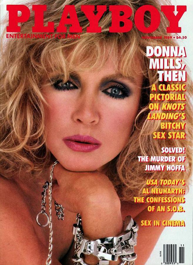 Playboy Magazine Cover 1989 Digital Art by Kevin Ensenhower