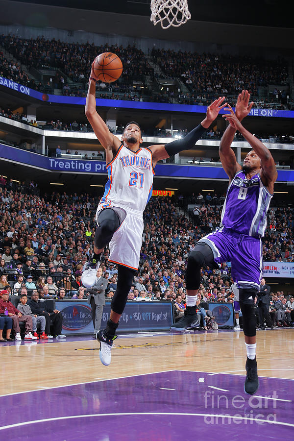 Rudy Gay Photograph by Rocky Widner