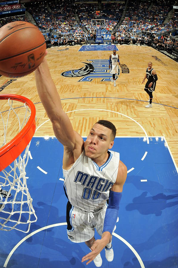 Aaron Gordon Photograph by Fernando Medina