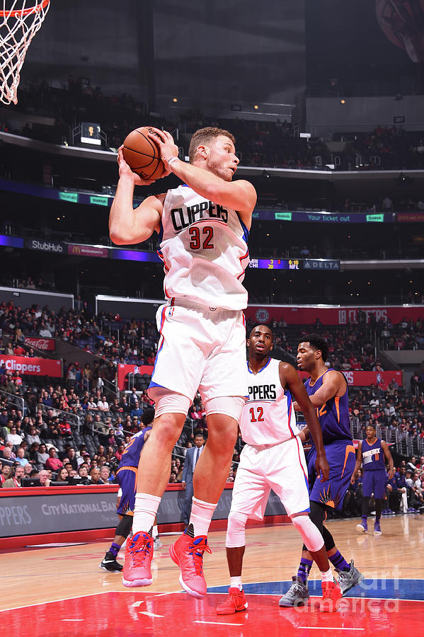 Blake Griffin Photograph by Juan Ocampo