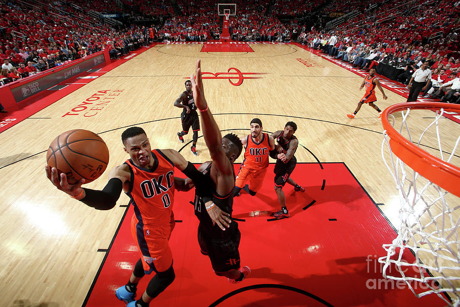 Russell Westbrook Photograph by Nathaniel S. Butler