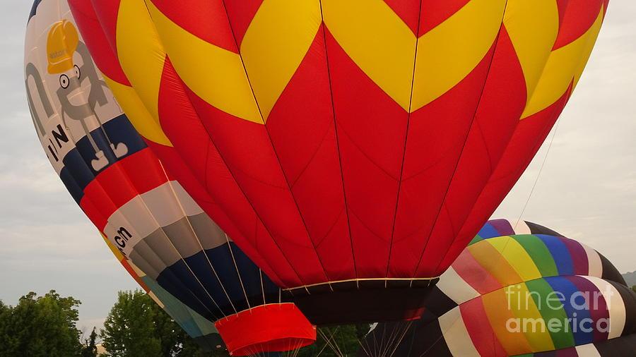 115 Duo Balloons Ready Photograph