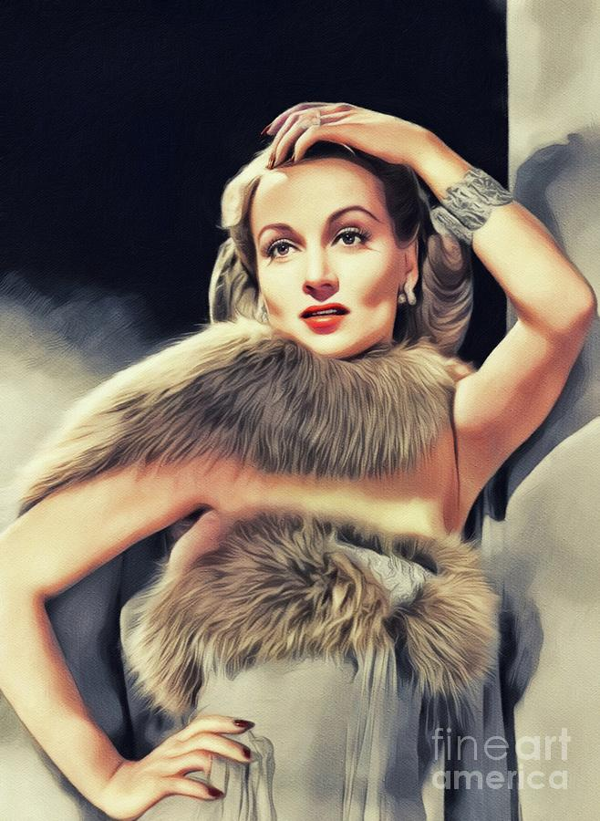 Carole Lombard, Vintage Movie Star by John Springfield