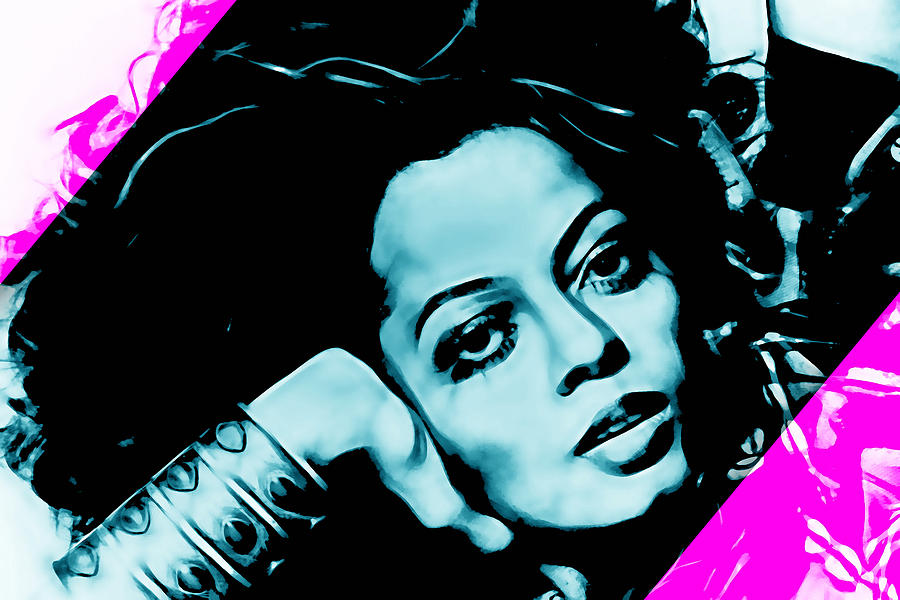 Diana Ross Collection Mixed Media