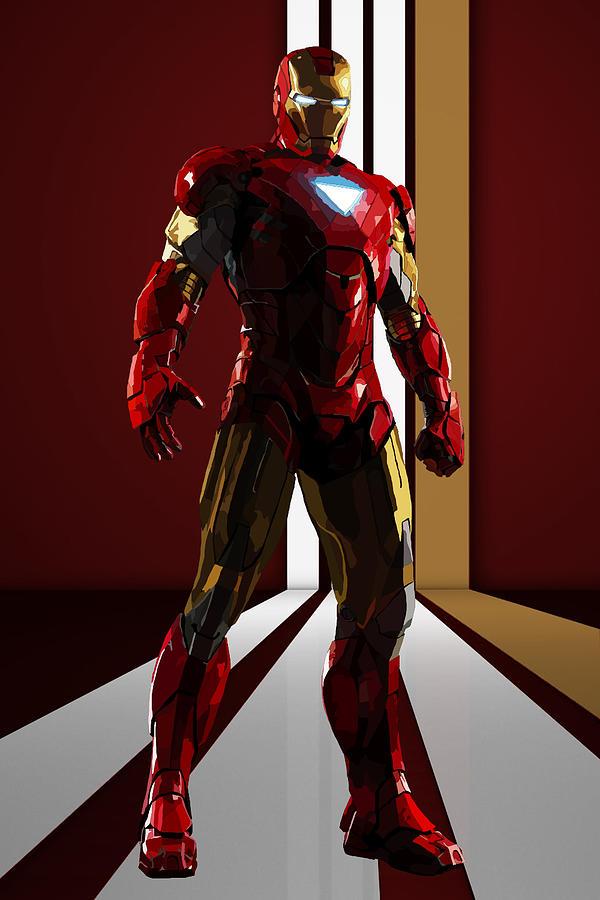 Iron Man 2 2010 Digital Art By Geek N Rock