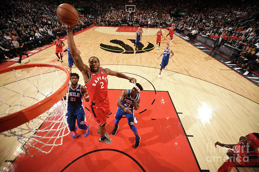 Kawhi Leonard Photograph by Ron Turenne
