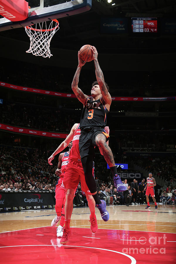 Kelly Oubre Photograph by Ned Dishman